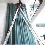 Длинные шторы на заказ
