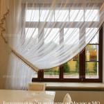 Прозрачные шторы на заказ