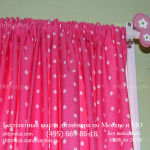 Яркие шторы на детском карнизе Москва заказать