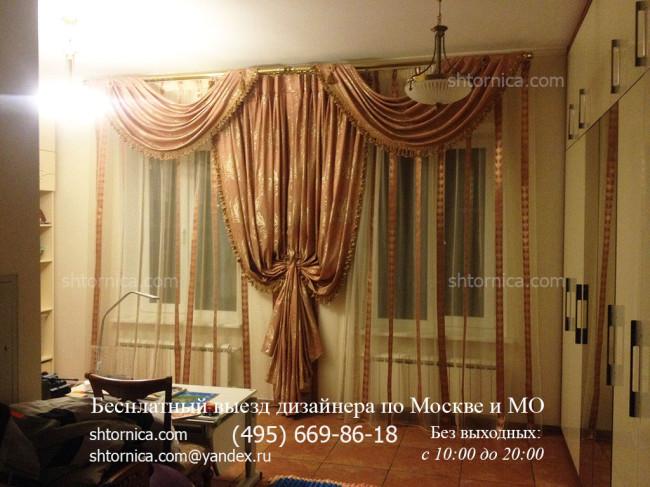 Недорогие шторы для спальни заказать