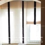 Римские шторы для окна ПВХ