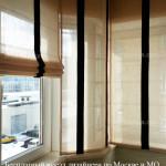 Римские шторы для окон ПВХ на балкон