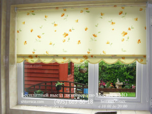 Рулонные шторы на кухню заказ в Москве