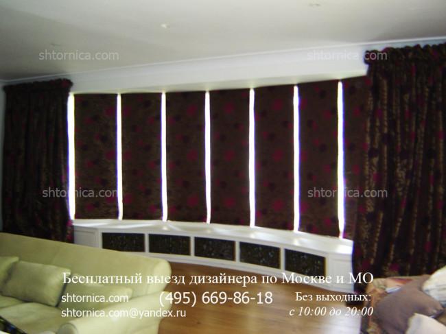 Рулонные шторы блэкаут заказать в Москве