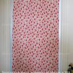 Рулонные шторы без сверления с рисунком на заказ