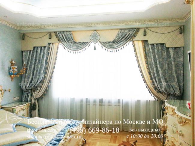 Шторы для спальни на заказ в Москве