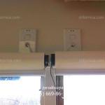 Рулонные шторы с электроприводом на заказ