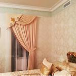 Элитные шторы для спальни Москва