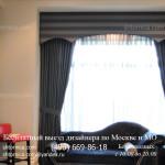 Классические шторы в гостиную на заказ