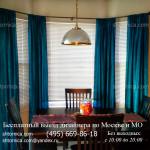 Классические шторы и жалюзи на кухню заказ