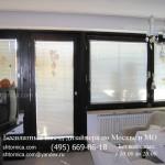 Пластиковые жалюзи для балконного окна и двери на заказ
