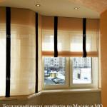 Римские жалюзи шторы для окна ПВХ заказать