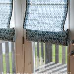 Римские жалюзи шторы на двери купить заказать