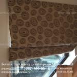 Римские шторы для окна ПВХ заказать