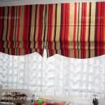 Римские шторы с тюлем на заказ