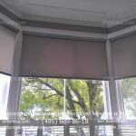 Рулонные жалюзи для эркерного окна ПВХ под закааз