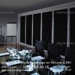 Рулонные шторы блэкаут для офиса на заказ