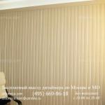 Вертикальные шторы-жалюзи в кабинет