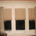 Заказать римкие жалюзи с классическими шторами в Москве