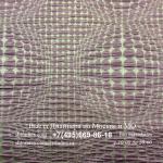 Заказать в Москве элитную портьерную ткань из мягкой тафты в современном стиле, Абстрактные выпуклые круги в серо-сиреневых оттенках, арт.: Street Rondo, col 06, крупноузорный, 100% полиэстер, Средней плотности, производства Италия.