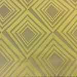 Портьерная атласная ткань с геометрическим рельефным рисунком
