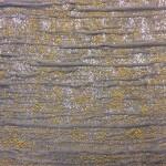 Портьерная жаккардовая ткань с рельефным выпуклым нанесением рисунка горчица