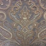 Портьерная жаккардовая ткань с рисунком «дамаск»